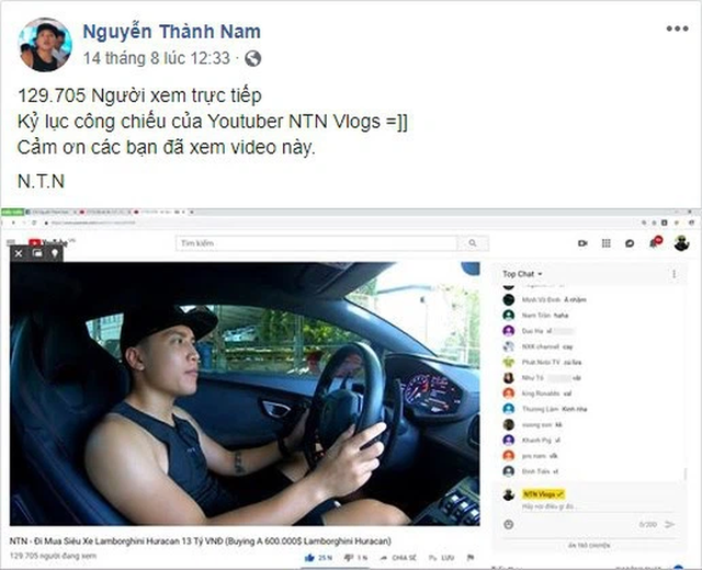 Những lần mua xe của NTN – Youtuber cá nhân đạt nút kim cương đầu tiên Việt Nam: 2 lần mua siêu xe lừa CĐM, thực tế chạy Mẹc và Ducati - Ảnh 6.