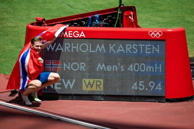 Các vận động viên Olympic thi nhau phá kỷ lục nhờ công nghệ đường chạy trên mây của Nhật Bản - Ảnh 6.