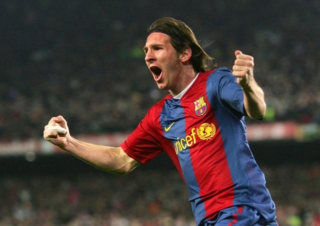 Toàn bộ sự nghiệp vĩ đại của Messi tại Barcelona qua ảnh - Ảnh 8.