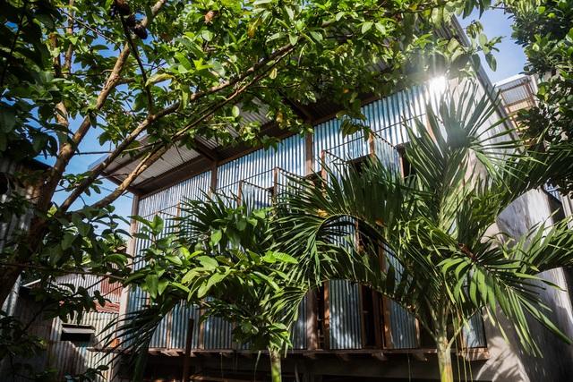 Ngôi nhà lụp xụp ở Châu Đốc lột xác ngoạn mục nhờ KTS Nhật Bản, view rộng bao la bước đến đâu chill đến đó - Ảnh 12.