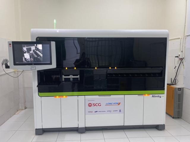 Tập đoàn SCG và Hóa dầu Long Sơn hỗ trợ hệ thống xét nghiệm real-time PCR tự động cho tỉnh Bà Rịa – Vũng Tàu, chung tay phòng chống Covid-19 - Ảnh 1.