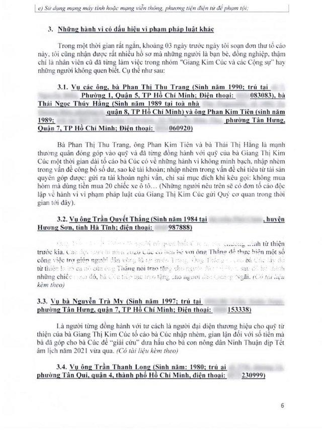 Nhiều cựu cộng sự, bạn bè cũ đồng loạt gửi đơn tố cáo Giang Kim Cúc chỉ trong thời gian ngắn - Ảnh 1.