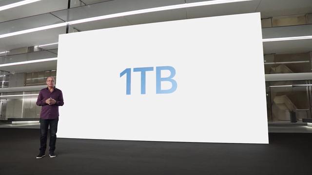 iPhone 13 Pro và iPhone 13 Pro Max chính thức: Màn hình ProMotion 120Hz, bộ nhớ trong 1TB, quay video xoá phông, thời lượng pin cải thiện, thêm màu xanh Sierra Blue - Ảnh 13.