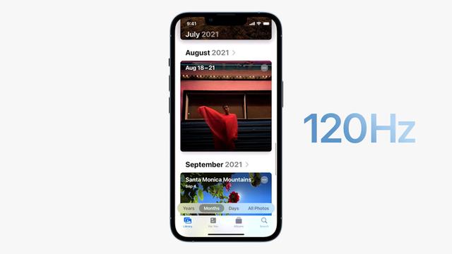 iPhone 13 Pro và iPhone 13 Pro Max chính thức: Màn hình ProMotion 120Hz, bộ nhớ trong 1TB, quay video xoá phông, thời lượng pin cải thiện, thêm màu xanh Sierra Blue - Ảnh 4.
