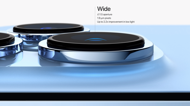 iPhone 13 Pro và iPhone 13 Pro Max chính thức: Màn hình ProMotion 120Hz, bộ nhớ trong 1TB, quay video xoá phông, thời lượng pin cải thiện, thêm màu xanh Sierra Blue - Ảnh 8.