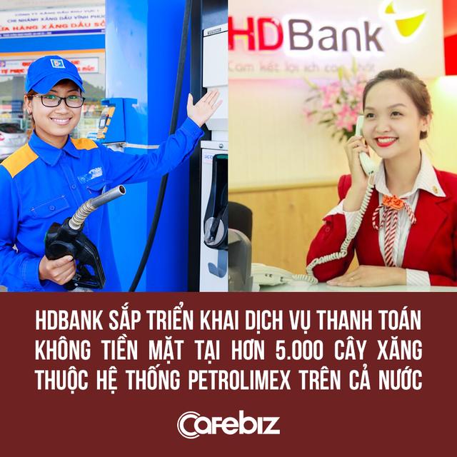 HDBank của nữ tỷ phú Nguyễn Thị Phương Thảo sắp bắt tay Petrolimex triển khai thanh toán không tiền mặt tại hơn 5.000 cây xăng - Ảnh 1.
