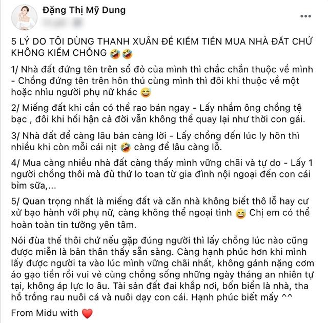 Giảng viên Midu dùng thanh xuân để MUA NHÀ ĐẤT chứ không kiếm chồng, Shark Linh đồng ý lấy chồng sớm... quá sai lầm! - Ảnh 1.