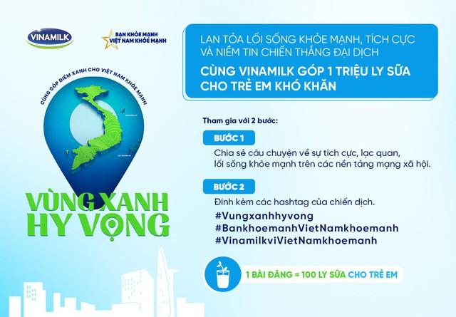 Cùng góp điểm xanh, cho Việt Nam khoẻ mạnh – Hoạt động của Vinamilk để mang 1 triệu ly sữa cho trẻ em khó khăn - Ảnh 2.