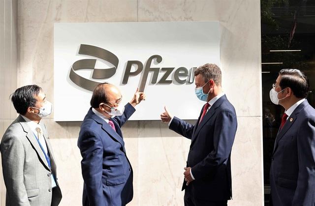 Pfizer hứa giao đủ 31 triệu liều vắc-xin cho Việt Nam năm 2021, ghi nhận đề nghị hợp tác sản xuất vắc-xin - Ảnh 1.
