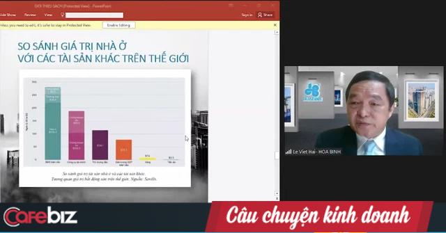 Chủ tịch HBC Lê Viết Hải nói về 'trang sử vàng' của VN: Cớ sao chúng ta không trở thành người xây nhà cho cả thế giới, chỉ 1% thị phần cũng đã có 120 tỷ USD? - Ảnh 6.