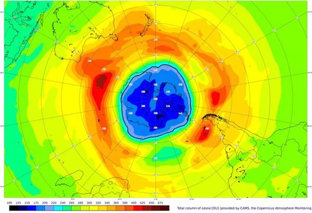 Lỗ thủng tầng ôzôn năm nay lớn hơn cả diện tích của Nam Cực - Ảnh 2.