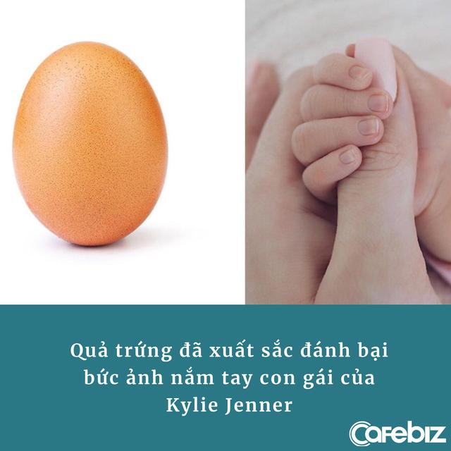 5 bài học marketing từ quả trứng 'nhạt nhẽo' có gần 5 triệu follower, từng đánh bại Kylie Jenner và phá vỡ kỷ lục thế giới - Ảnh 1.