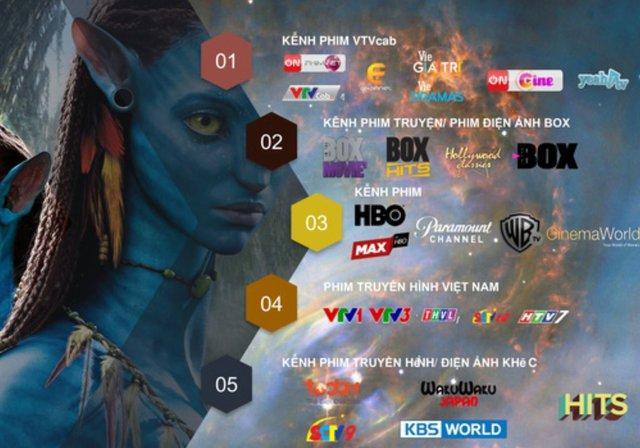Hàng loạt kênh truyền hình quốc tế dừng phát sóng, doanh nghiệp truyền hình trả tiền bù bằng nhiều kênh mới - Ảnh 1.