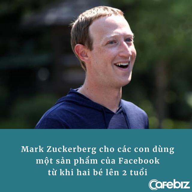 Lý do Mark Zuckerberg cho các con dùng nền tảng của Facebook từ 2 tuổi, khẳng định 'điều đó tốt cho sức khỏe của chúng' - Ảnh 1.