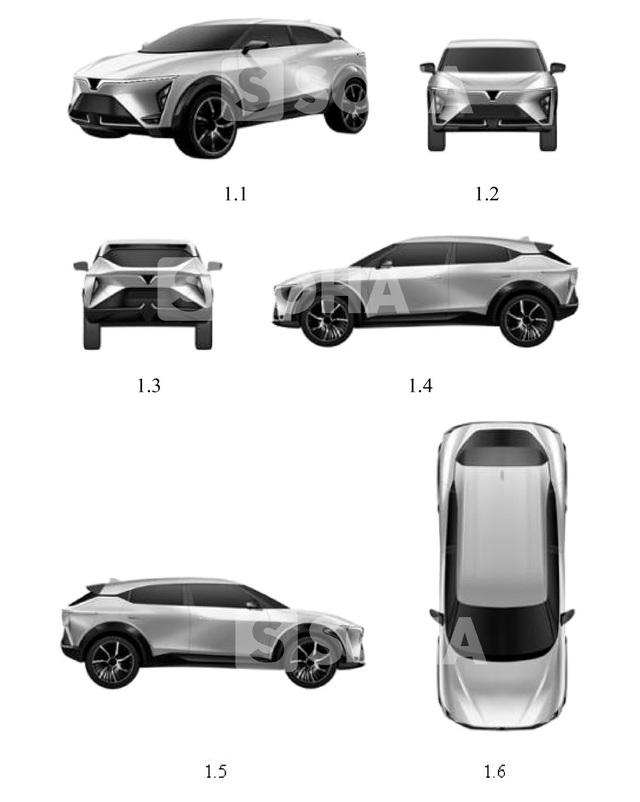 Lộ thiết kế mẫu xe mới của VinFast: Xuất hiện một chi tiết kỳ lạ và khó hiểu - Có mối liên hệ với Cadillac? - Ảnh 1.