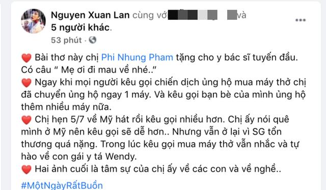 Ca sĩ Phi Nhung có tâm nguyện đặc biệt dành cho 23 con nuôi nhưng chưa thành, Xuân Lan tiết lộ tin nhắn quá đau lòng!  - Ảnh 1.