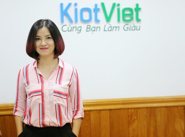 Bà Vũ Nguyễn Thùy Vân, Phụ trách Marketing của KiotViet