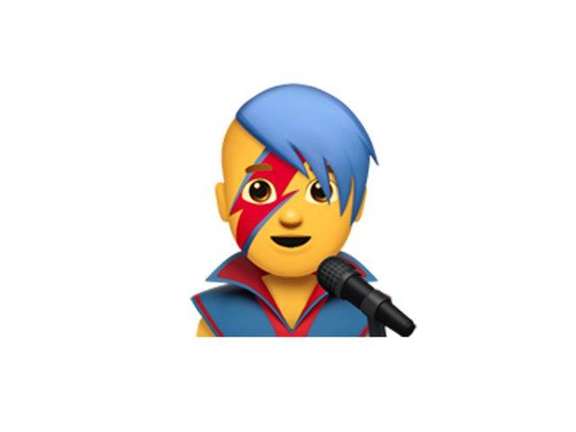 Một nam danh ca trong thế giới Emoji thì sẽ trông như thế này.