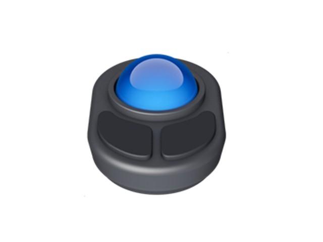 Cục xanh này hóa ra lại là con lăn điều hướng (trackball).