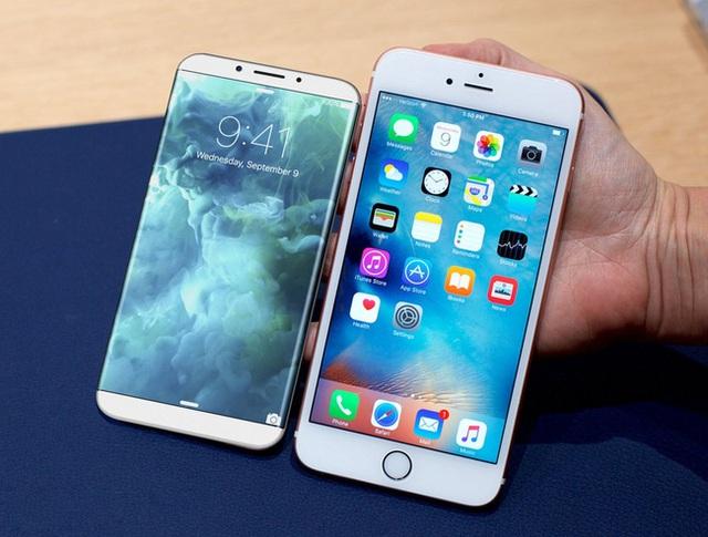 Tin đồn rò rỉ cho thấy iPhone 8 có thiết kế 2 mặt bằng kính, viền kim loại chạy xung quanh.