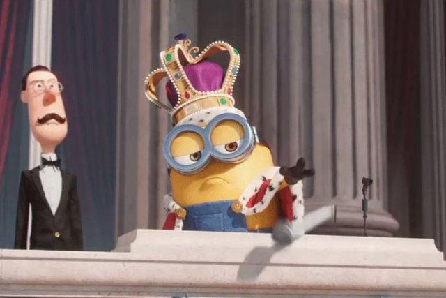 Hình ảnh Minion trong trò đùa Micdrop