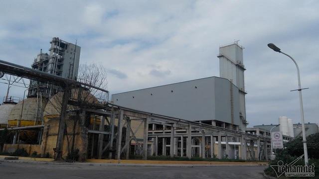 Một góc nhà máy đạm Hà Bắc.
