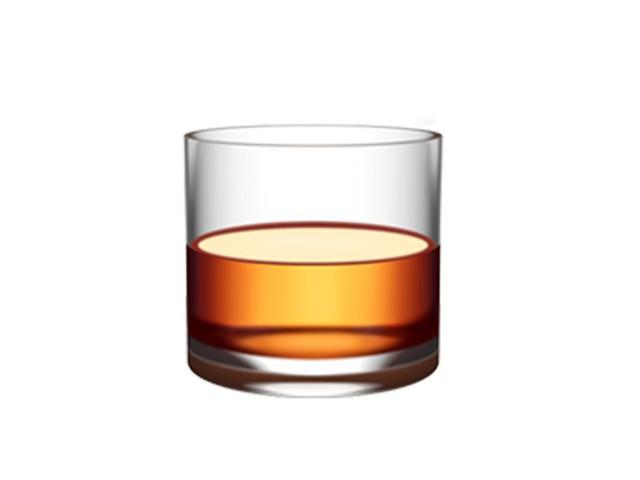 Biểu tượng mới xuất hiện trên iOS 10.2 này không phải là ly rượu, mà chỉ để thể hiện một ly nước nói chung.
