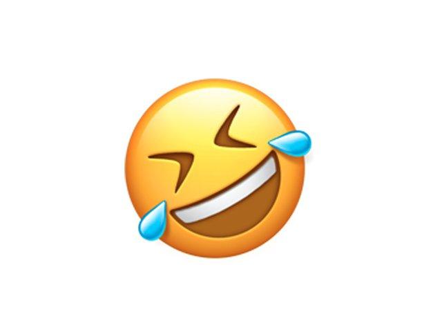 Có thắc mắc tại sao mặt cười này lại bị nghiêng không? Bởi vì hắn đang cười lăn, cười bò đấy.