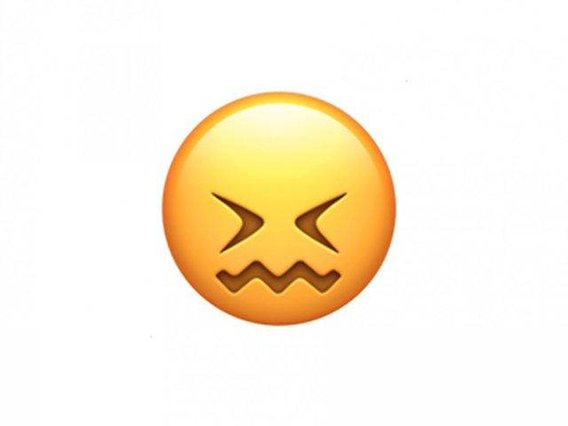 Dùng Emoji này để thể hiện rằng bạn cảm thấy siêu khó chịu hoặc bị kích thích mạnh (như đồ ăn chua quá). Đừng dùng chúng để chê ai xấu nữa nhé.