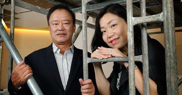 Tỷ phú Choo cùng con gái Carolyn