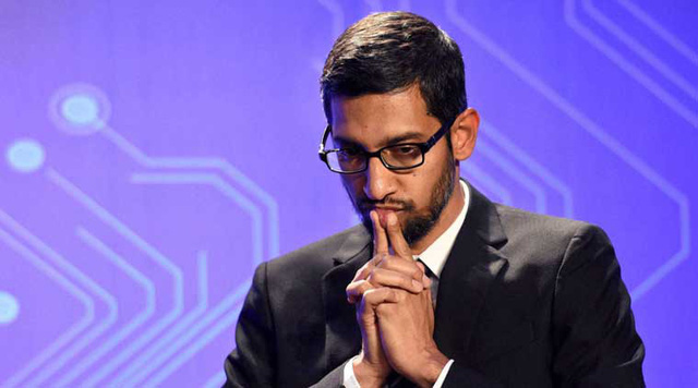 ' CEO Sundar Pichai của Google. '