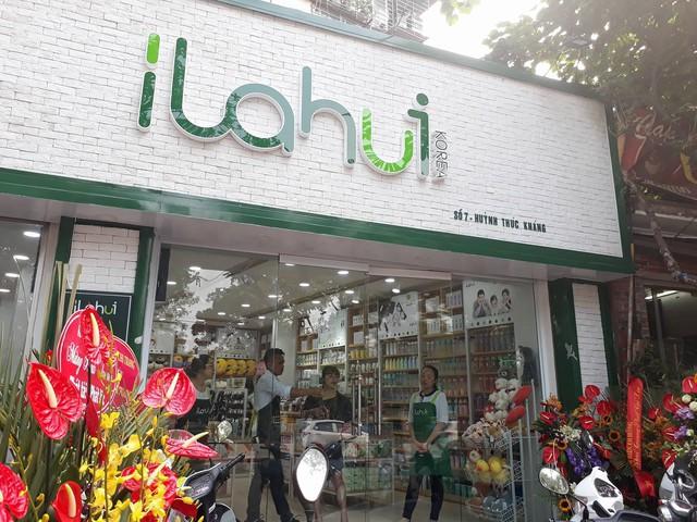 Một cửa hàng của Ilahui trên phó Huỳnh Thúc Kháng, Hà Nội.