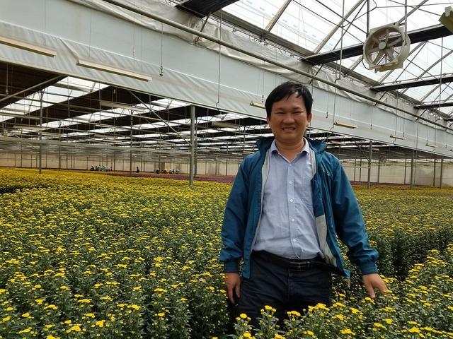Anh Phạm Hoàng Thái Dương, người sáng lập Hoayeuthuong.com.
