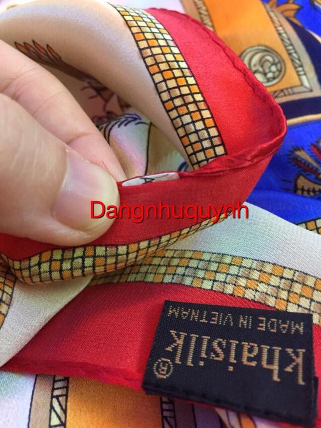 Khăn lụa Khaisilk vừa có mác Made in China, vừa có mác Made in Vietnam, nguồn gốc thật sự ở đâu? - Ảnh 3.