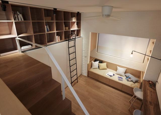 Không gian thoáng khiến căn nhà có cảm giác rộng rãi hơn, thoáng đãng hơn.
