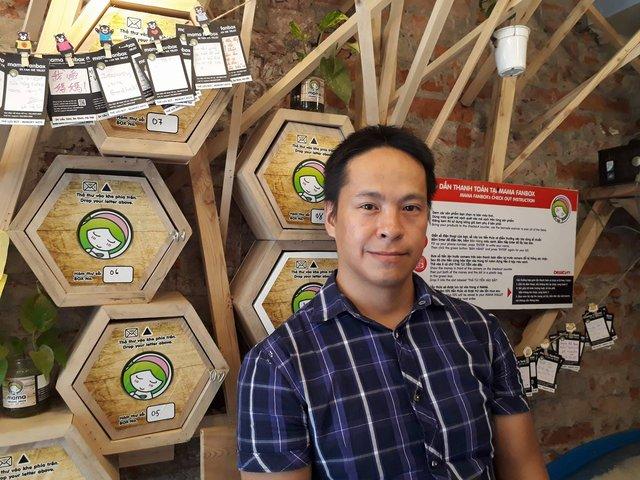 Anh Đào Khánh Hiệp, người sáng lập mô hình Mama Fanbox.
