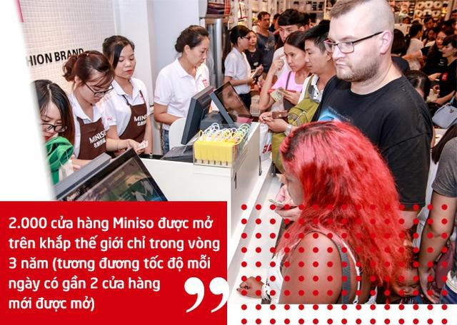 Mỗi ngày lại mở thêm 2 cửa hàng mới, Miniso đang 'xâm chiếm' thế giới với tốc độ ngang 7-Eleven thời hoàng kim - Ảnh 4.