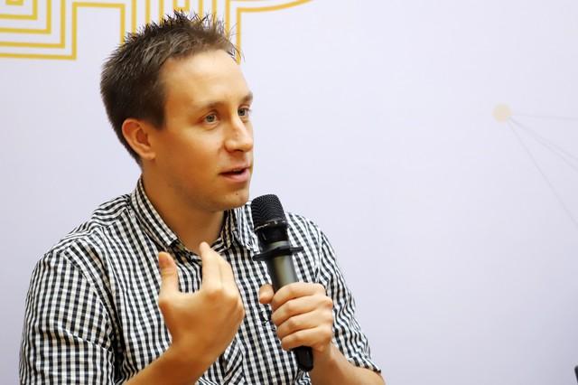 Ông Dominik Weil - Đồng sáng lập của Bitcoin.vn