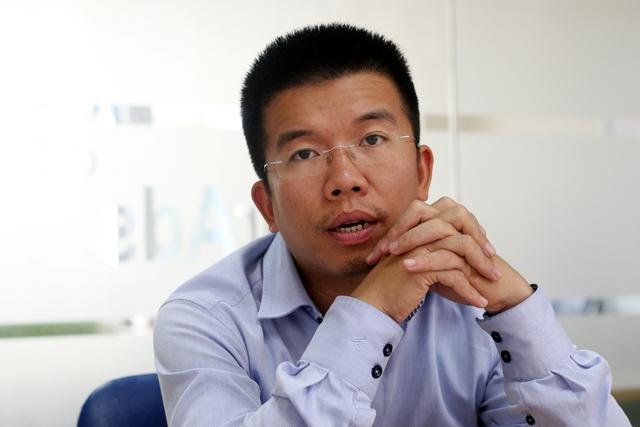 CEO CleverAds Nguyễn Khánh Trình nói rằng anh đầu tư vào chuỗi thực phẩm sạch xuất phát từ nhiều lý do chứ không đơn thuần là tiền bạc. (Ảnh: Trung Hiền/Vietnam+)