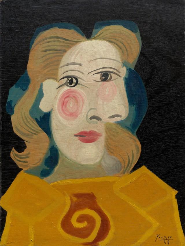Một tác phẩm của Picasso, nó không phức tạp hay hào nhoáng như những bức tranh khác.