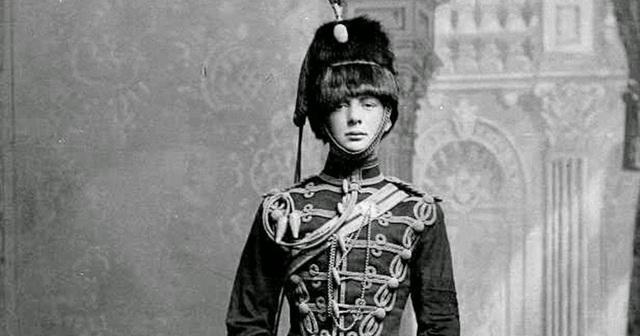 'Winston Churchill thời trẻ'