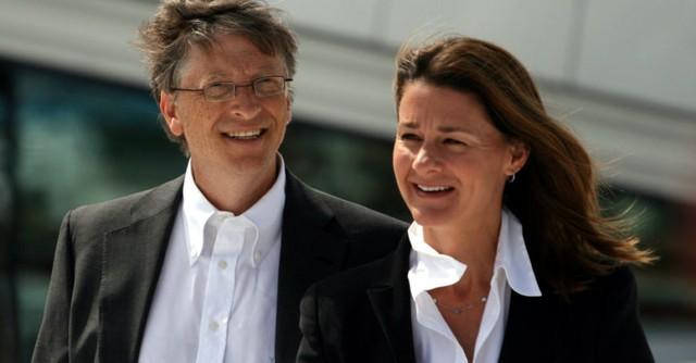 Vợ chồng Bill và Melinda Gates.