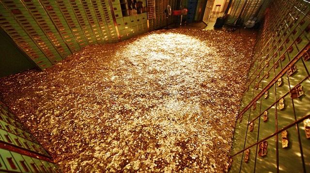 Hầm vàng ở Thụy Sĩ