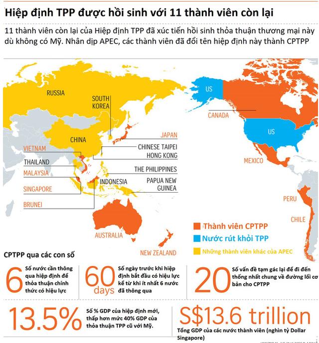 Chặng đường dài của hiệp định CPTPP - Ảnh 1.