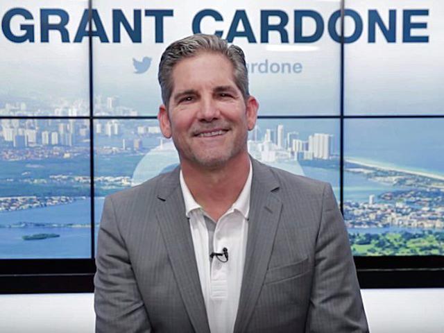 Grant Cardone, triệu phú với những phát ngôn có phần mạnh bạo.