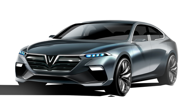 Cận cảnh 20 mẫu xe VINFAST được thiết kế riêng bởi 4 studio lừng danh thế giới: Lấy cảm hứng từ con người Việt, đẹp không thua Tesla, Audi, BMW... - Ảnh 14.