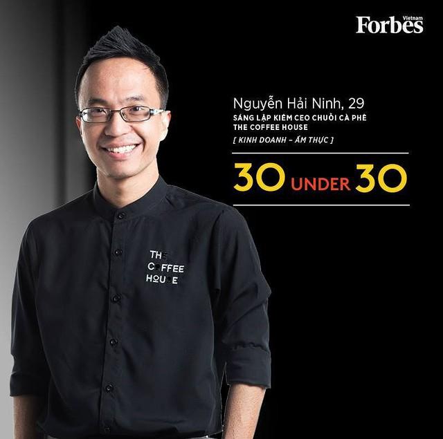 Hải Ninh, cựu sinh viên khoa Hóa, ĐH Bách Khoa Hà Nội. Anh hiện là CEO của The Coffee House.