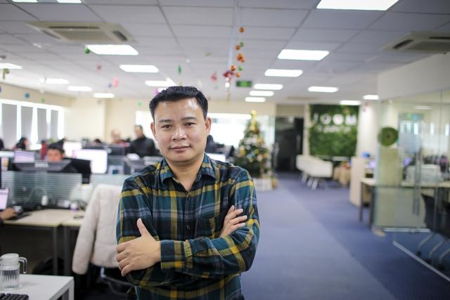 Anh Hùng Đinh, người sáng lập J.O.O.M và tạo nên hiện tượng DesignBold (Ảnh: Lê Minh Sơn)