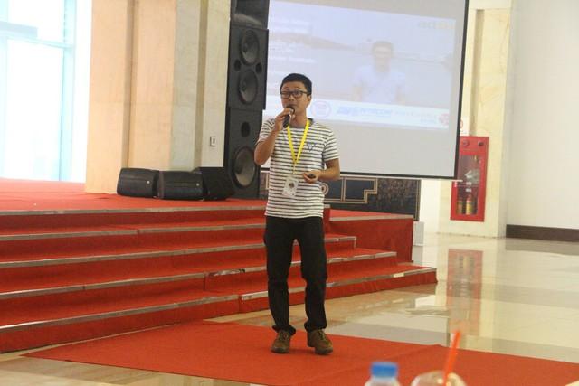 Diễn giả Nguyễn Văn Vững tại Google Day X