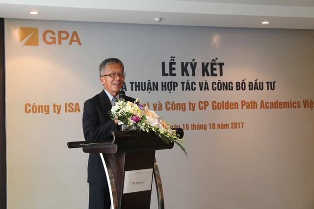 Ông Atsushi Ikegame, Giám đốc điều hành cấp cao Tập đoàn ISA Nhật Bản